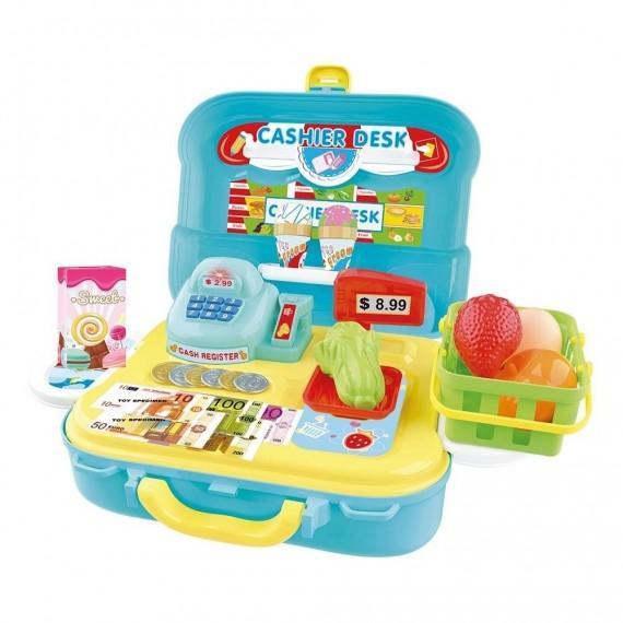 Maleta Caixa Registradora 3 Em 1 - Dm Toys