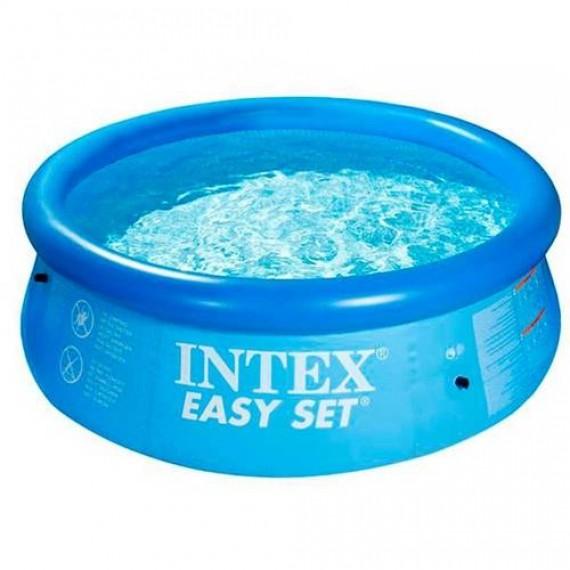 Piscina Easy Set 28110 2419 Litros Azul Intex