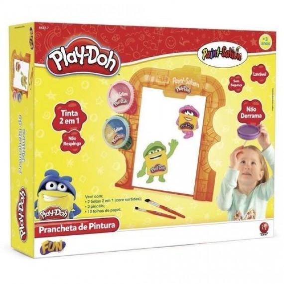Conjunto de Artes - Play-Doh - Prancheta com 2 Potes de Tinta