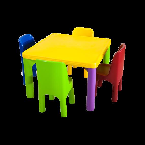 Mesinha e Cadeiras Infantis