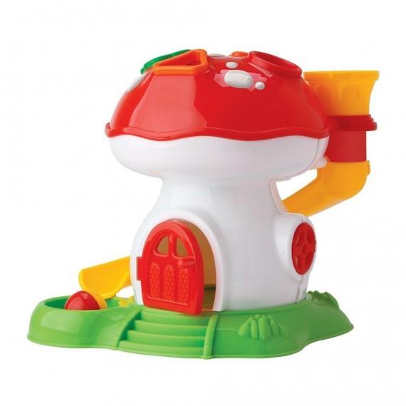Brinquedo Pedagógico educativo Infantil Tchuco Baby Cogumelo Didático Sortidos Samba Toys