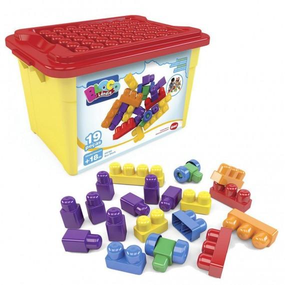 Box Block - 19 Peças