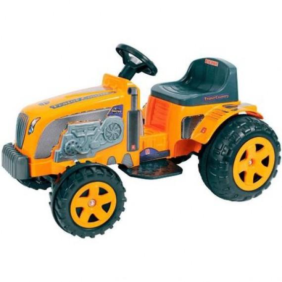 Trator Elétrico Infantil Country 6V Amarelo